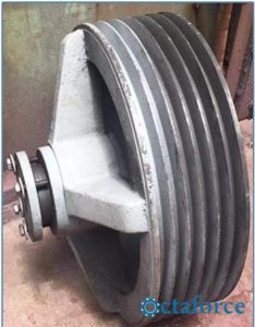 Custom Electric Motor Pulley