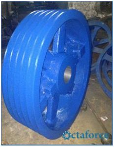 Custom made Large pulley