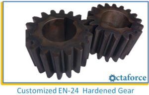 Customized EN-24 Hardened Gear