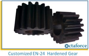 Customized EN-24 Hardened Gears