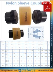 Nylon Sleeve Gear Coupling Catalogue PDF
