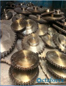 Sprockets Simples and Duplex Sprockets