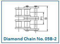 Diamond Chain No. 05B-2.