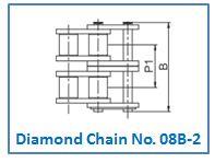 Diamond Chain No. 08B-2