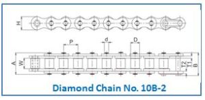 Diamond Chain No. 10B-2