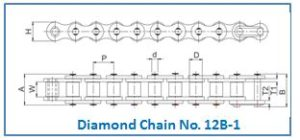 Diamond Chain No. 12B-1
