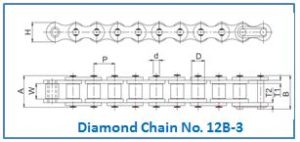 Diamond Chain No. 12B-3
