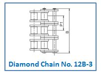 Diamond Chain No. 12B-3.