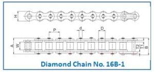 Diamond Chain No. 16B-1