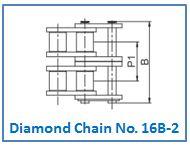 Diamond Chain No. 16B-2.