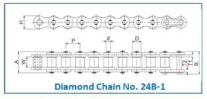 Diamond Chain No. 24B-1