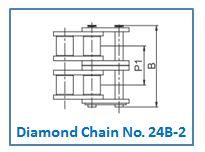 Diamond Chain No. 24B-2.