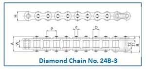 Diamond Chain No. 24B-3