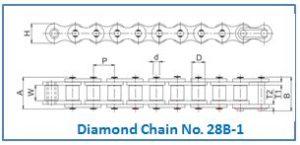Diamond Chain No. 28B-1