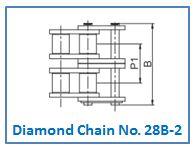 Diamond Chain No. 28B-2.