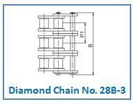 Diamond Chain No. 28B-3.