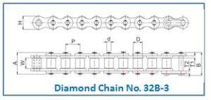Diamond Chain No. 32B-3