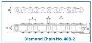 Diamond Chain No. 40B-2