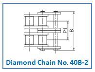 Diamond Chain No. 40B-2.