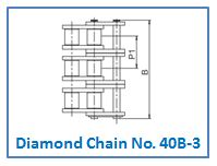 Diamond Chain No. 40B-3.