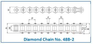 Diamond Chain No. 48B-2