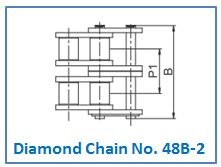 Diamond Chain No. 48B-2.