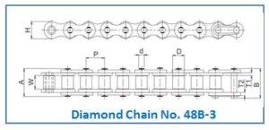Diamond Chain No. 48B-3