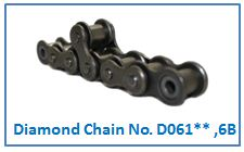 Diamond Chain No. D061** ,6B