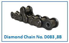 Diamond Chain No. D083 ,8B