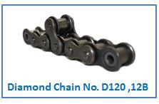 Diamond Chain No. D120 ,12B