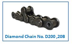 Diamond Chain No. D200 ,20B