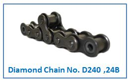 Diamond Chain No. D240 ,24B