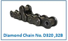 Diamond Chain No. D320 ,32B