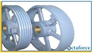 Large Split Pulley
