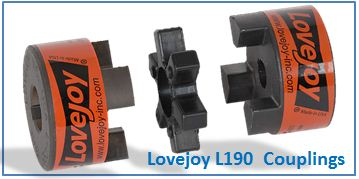 Lovejoy L190 Couplings