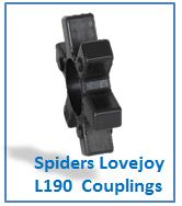 Spiders Lovejoy L190 Couplings