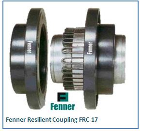 Fenner Resilient Coupling FRC-17