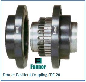Fenner Resilient Coupling FRC-20