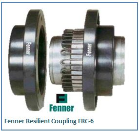 Fenner Resilient Coupling FRC-6