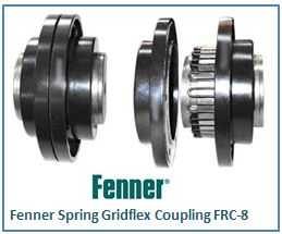 Fenner Spring Gridflex Coupling FRC-8
