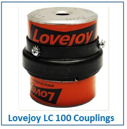Lovejoy LC 100 Couplings.