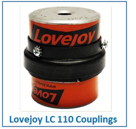 Lovejoy LC 110 Couplings.