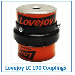 Lovejoy LC 190 Couplings.