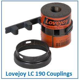 Lovejoy LC 190 Couplings