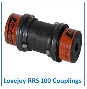 Lovejoy RRS 100 Couplings.