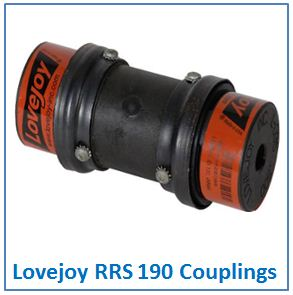 Lovejoy RRS 190 Couplings.