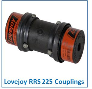 Lovejoy RRS 225 Couplings.