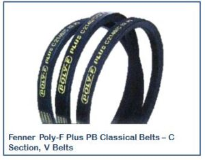 Fenner Poly-F Plus PB Classical Belts – C Section, V Belts