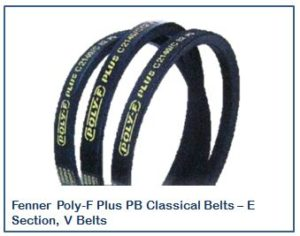 Fenner Poly-F Plus PB Classical Belts – E Section, V Belts