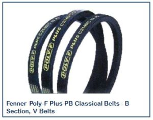 Fenner Poly-F Plus PB Classical Belts - B Section, V Belts